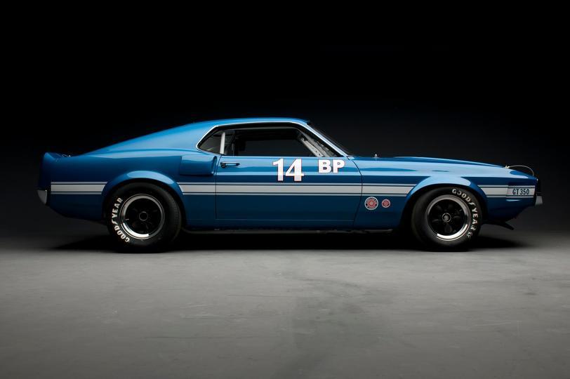 1969 Shelby GT350 Sportsroof SCCA B Prod Race Car right