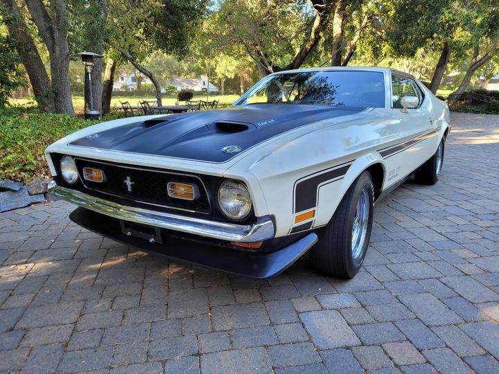 1971 Ford Boss 351 Coupe front-left
