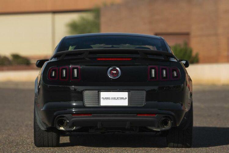2013 Ford Mustang Boss 302 Laguna Edition rear
