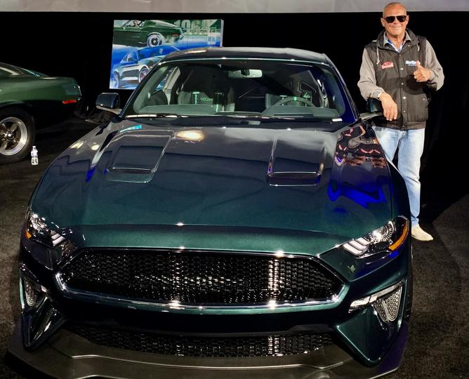 2019 Mustang Steve McQueen Bullitt front