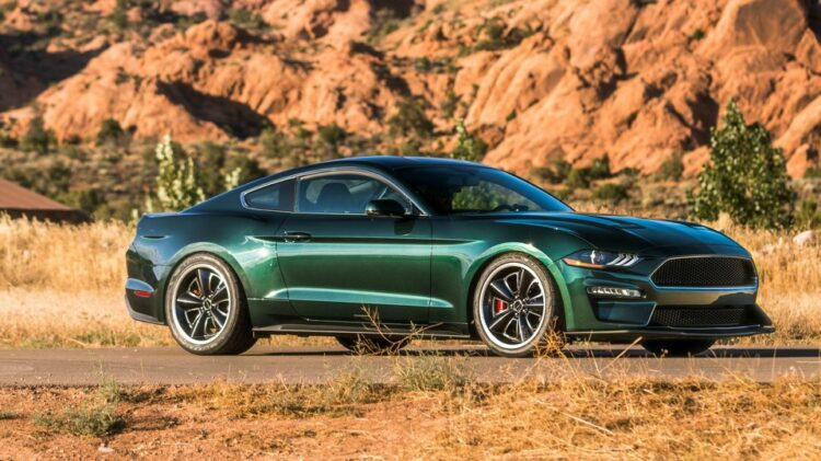 2019 Mustang Steve McQueen Bullitt front-right (2)