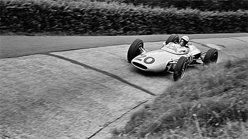 Jim Hall at the Nurburgring
