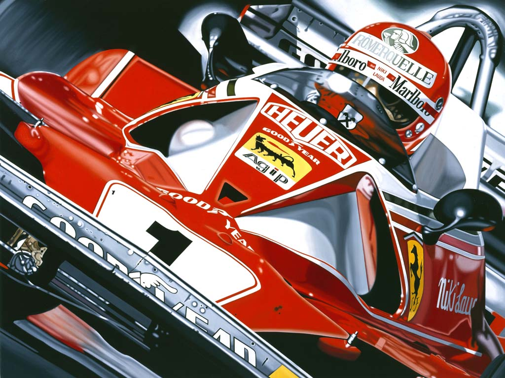 "Niki Lauda ""at the office"""