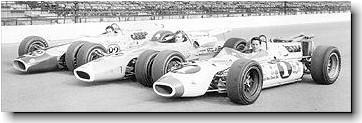 Mario Andretti on pole for 1966 Indy 500