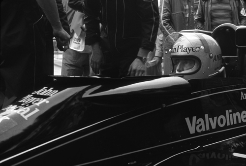 Andretti in JPS Lotus at Monaco - 1978