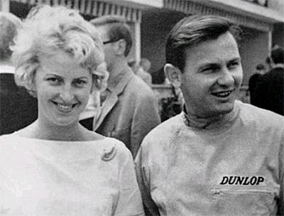 Patty and Bruce McLaren