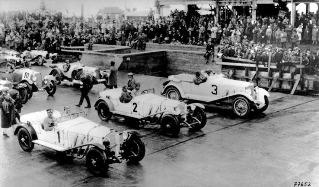 Opening race on the Nurburgring, June 18, 1927