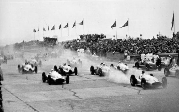 Start of the 1939 German Grand Prix