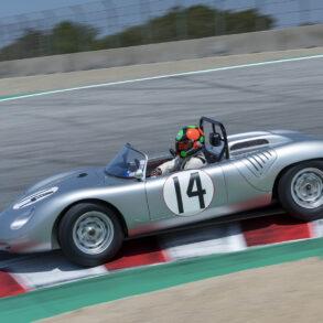 Group 4: 1955-1961 Sports Racing under/over 2000cc - Gunnar Jeannette - 1961 Porsche RS-61L - ©Rex McAfee
