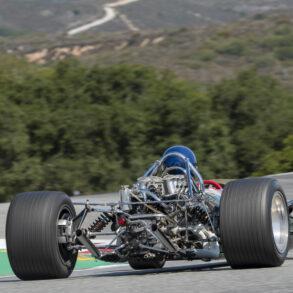 Group 7: 1966-1985 Masters Historic Formula One - Alex MacAllister - 1967 Lotus 49 - ©Rex McAfee