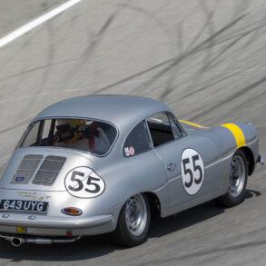 Group 1: 1955-1964 GT - Frank Altamura exiting turn 6 in his 1962 Porsche 356B S90 GT - ©Rex McAfee