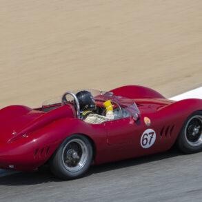 Group 1: 1955-1964 GT- Warren Spieker - 1957 Maserati 200SI - ©Rex McAfee