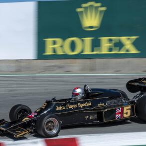 Group 7: 1966-1985 Masters Historic Formula One - Chris Locke - 1976 Lotus 77 - ©Rex McAfee