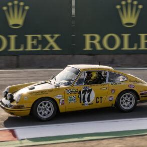 1967 Porsche 911S 1977 driven by Kevin Buckley. ©2021 Dennis Gray