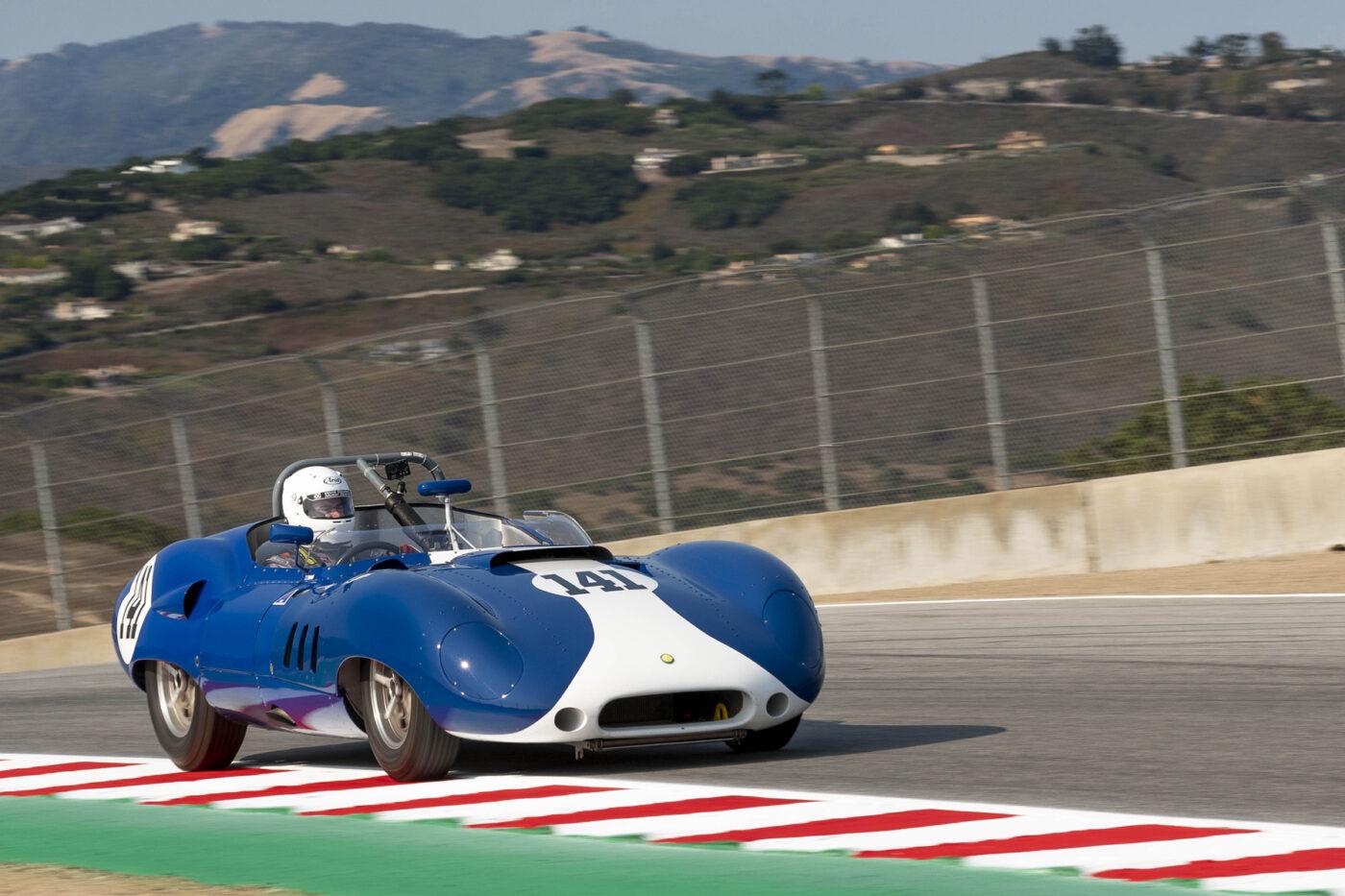 Group 4: 1955-1961 Sports Racing under/over 2000cc - David Swig - 1959 Lister Corvette - ©Rex McAfee
