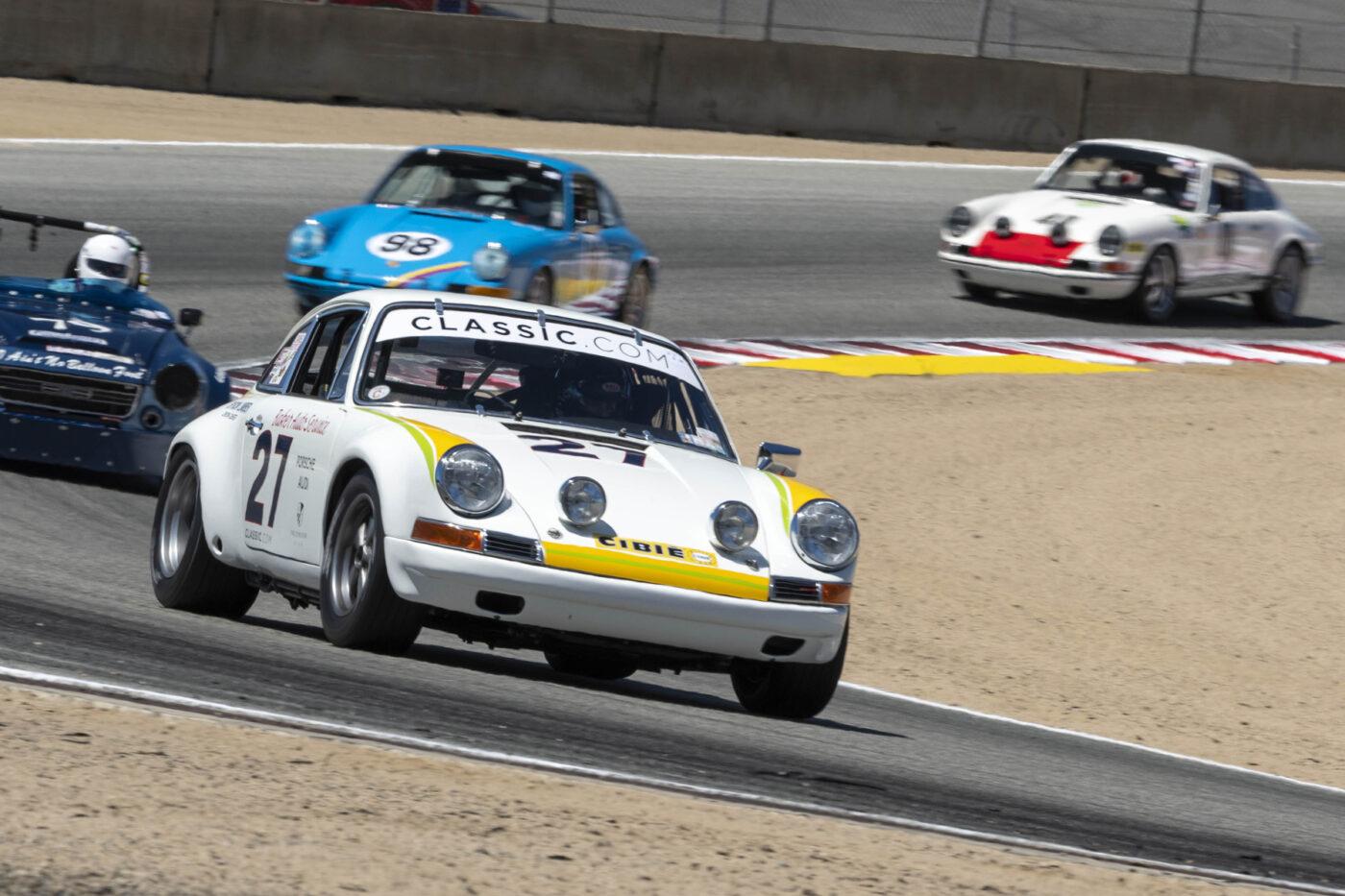 Group 2: 1961-1966 GT under 2500cc - Nelson Calle qualifies 1st in his 1967 Porsche 911 - ©Rex McAfee