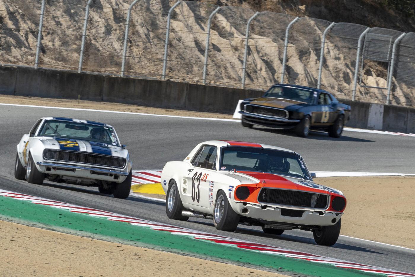 Group 5: 1966-1972 Trans-Am - Peter Klutt - 1967 Ford Shelby Notchback Race Car - ©Rex McAfee