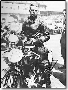 Rosemeyer on NSU at Avus 1933