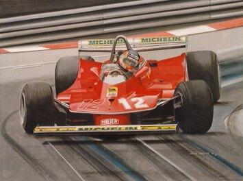 Chris Phillips Automotive Art