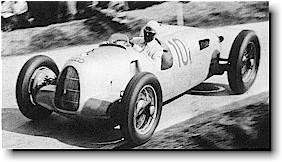 Rosemeyer driving Auto Union Type C