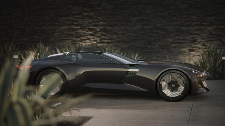 Audi skysphere concept right side