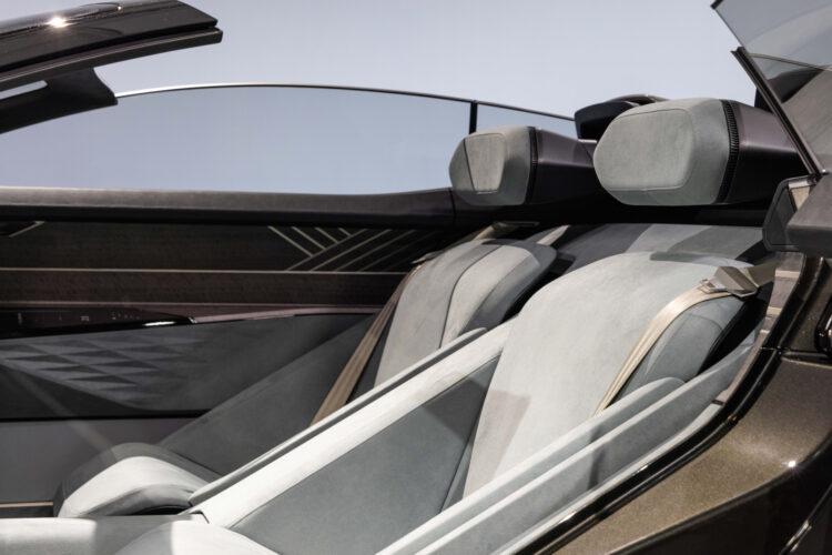 Audi skysphere concept seats