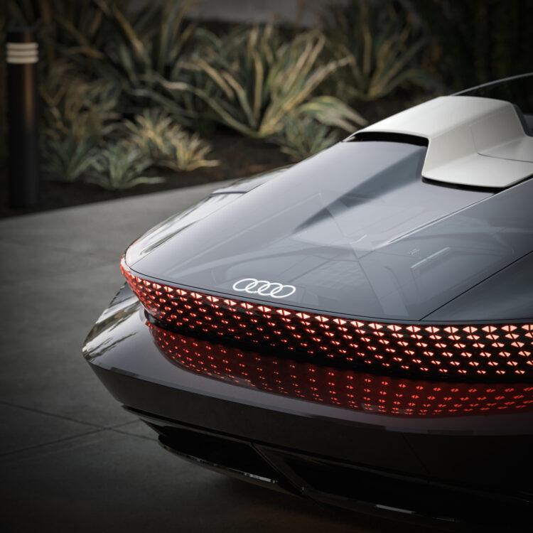 Audi skysphere concept taillights