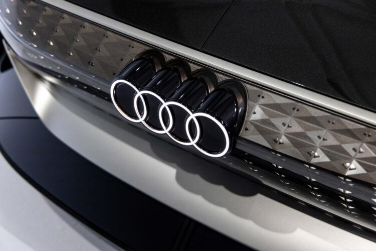 Audi skysphere concept 3D logo
