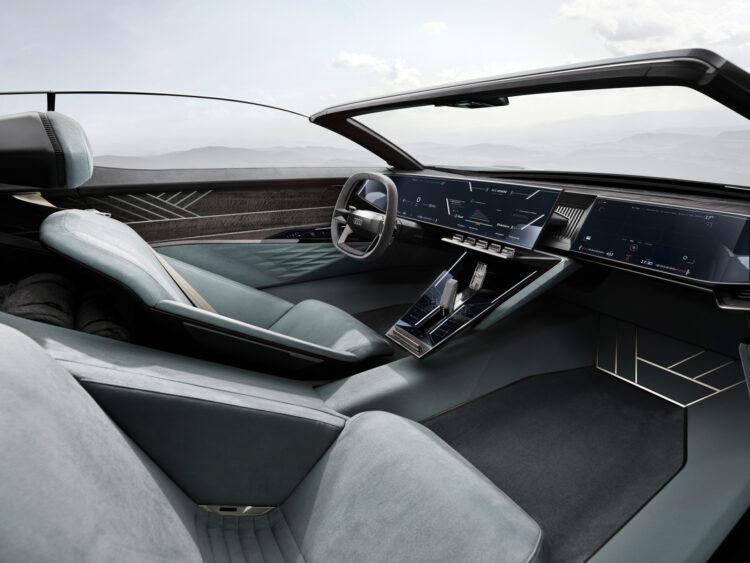 Audi skysphere concept driver