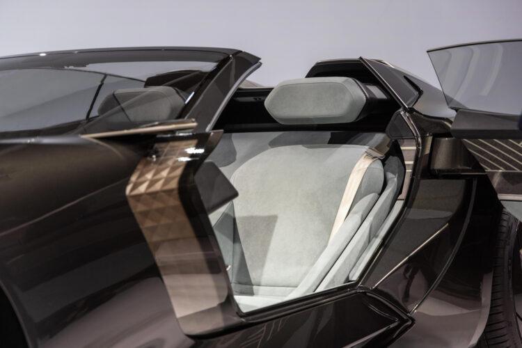 Audi skysphere concept driver's seat