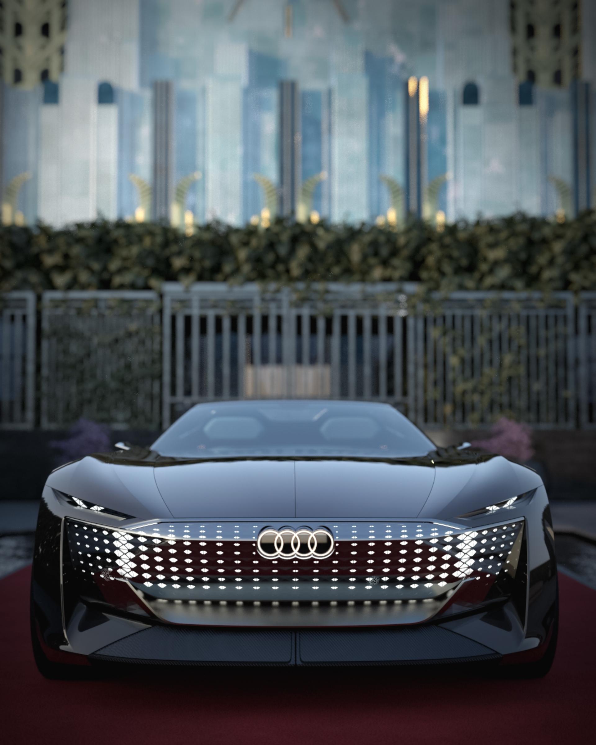 Audi skysphere concept front