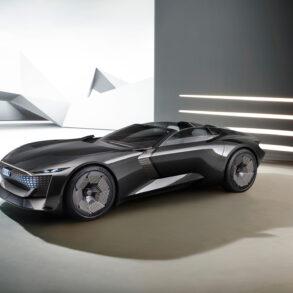 Audi skysphere concept right profile