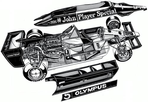 Jody Scheckter driving Wolf-Ford WR1