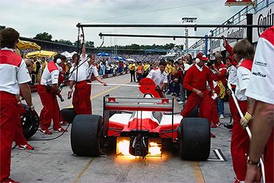 Alain Prost , McLaren MP4/3