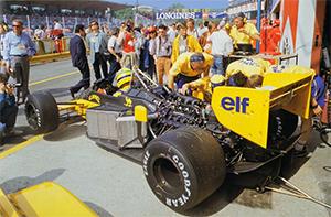 Senna at San Marino 1987