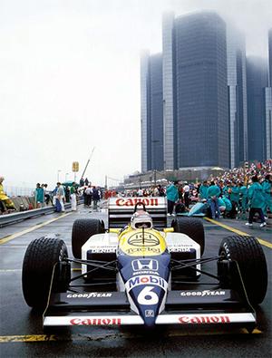 Piquet at Detroit 1987