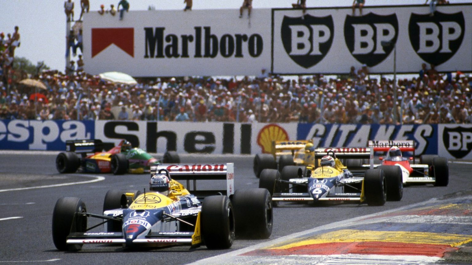 French Grand Prix, Paul Ricard, France, 5 July 1987.