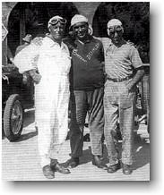 Borzacchini, Campari & Nuvolari