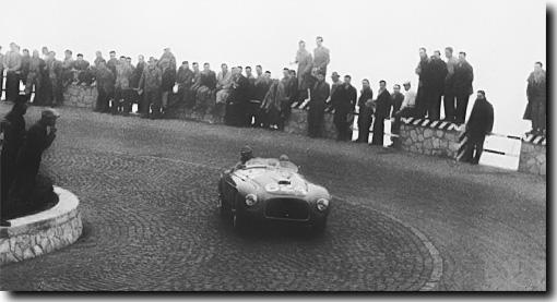 Biondetti at the 1949 Mille Miglia
