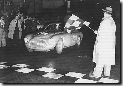 Giannino Marzotto winniong the 1950 Mille Miglia