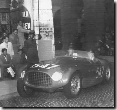 Ferrari 340MM - 1953 Mille Miglia