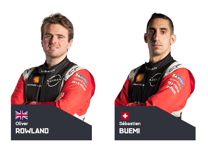 Oliver Rowland and Sebastien Buemi