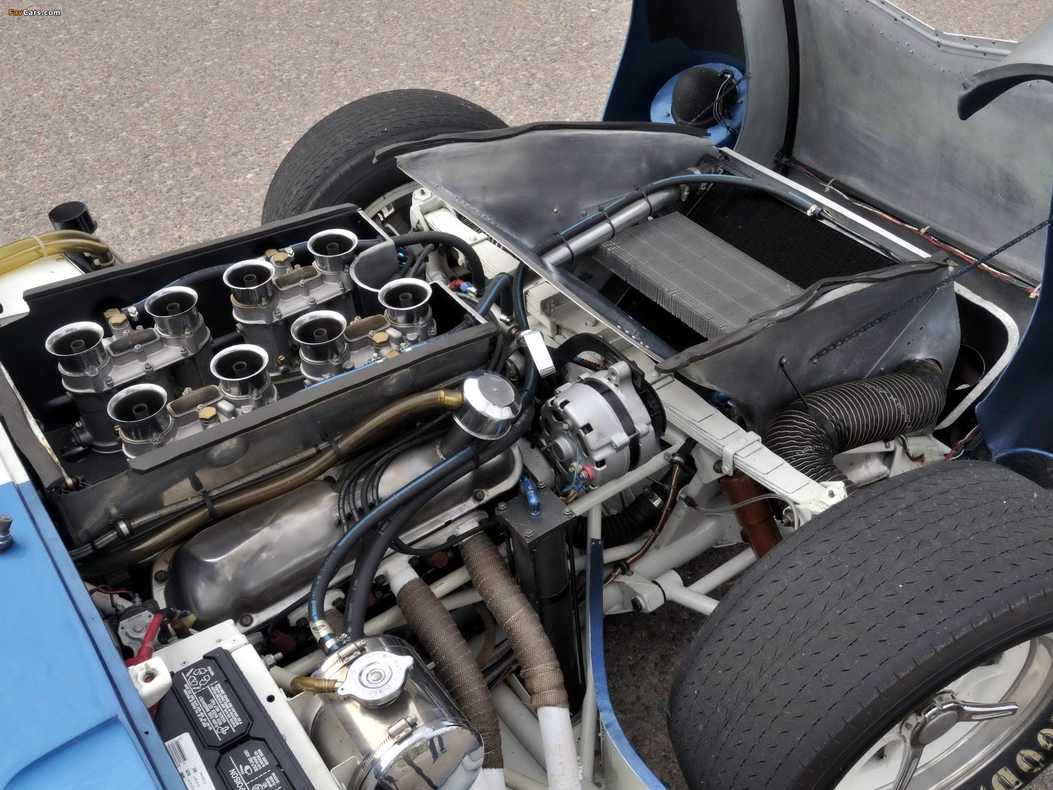 Shelby Cobra Daytona Coupé Engine