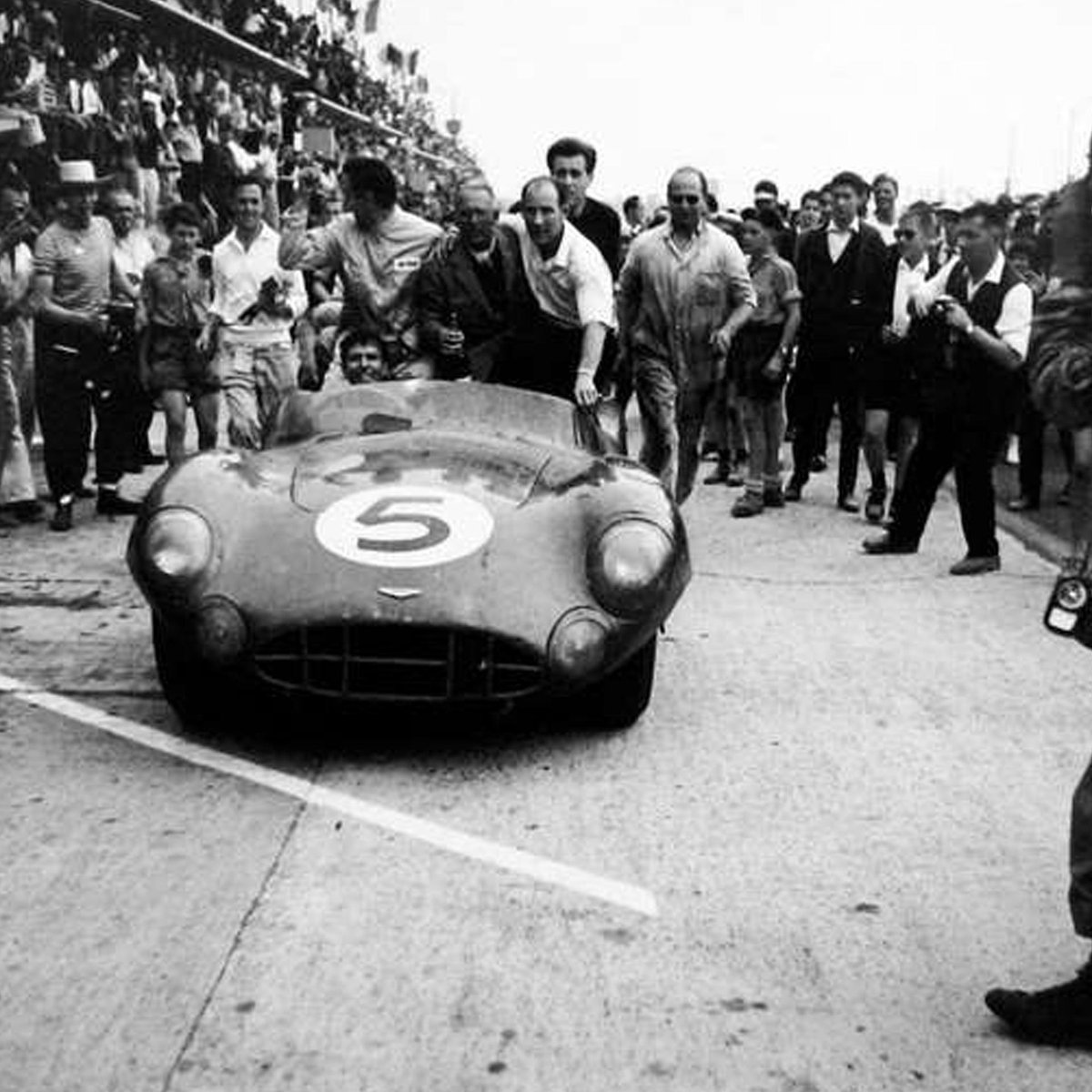 Carroll Shelby at 1959 Le Mans