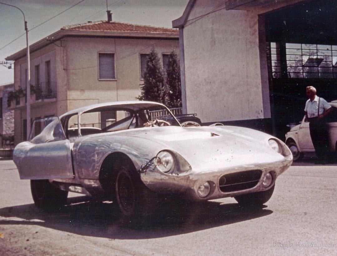 A naked Shelby Daytona CSX2300 body shell
