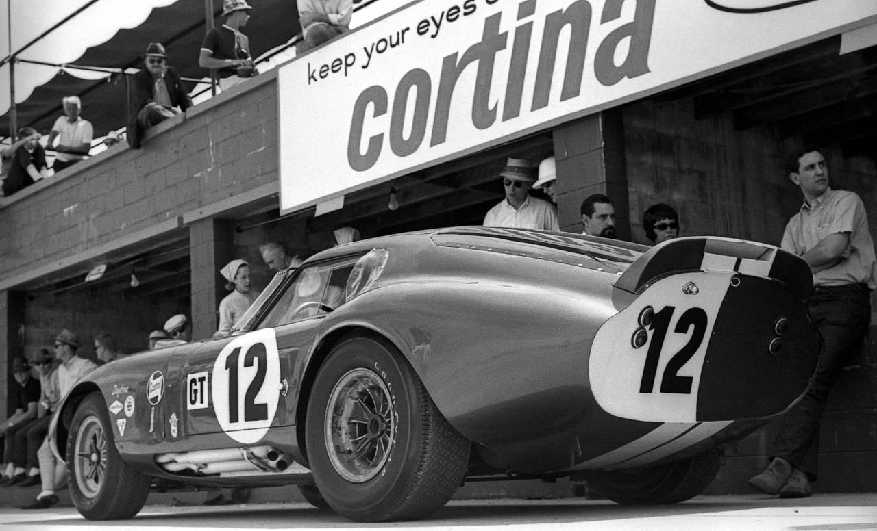 Shelby Daytona CSX2300 at the 1965 12 Hours of Sebring.