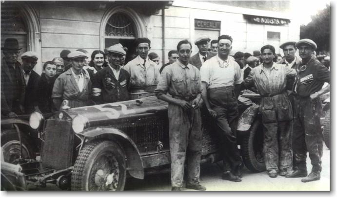 Varzi's Mille Miglia winning Alfa