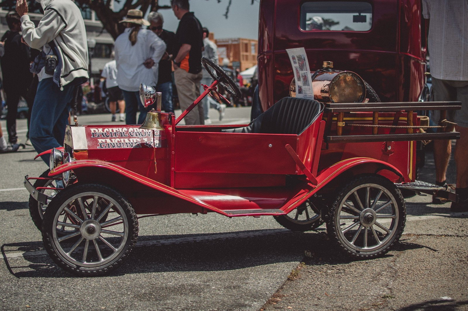 2021 The Little Car Show at Monterey Week