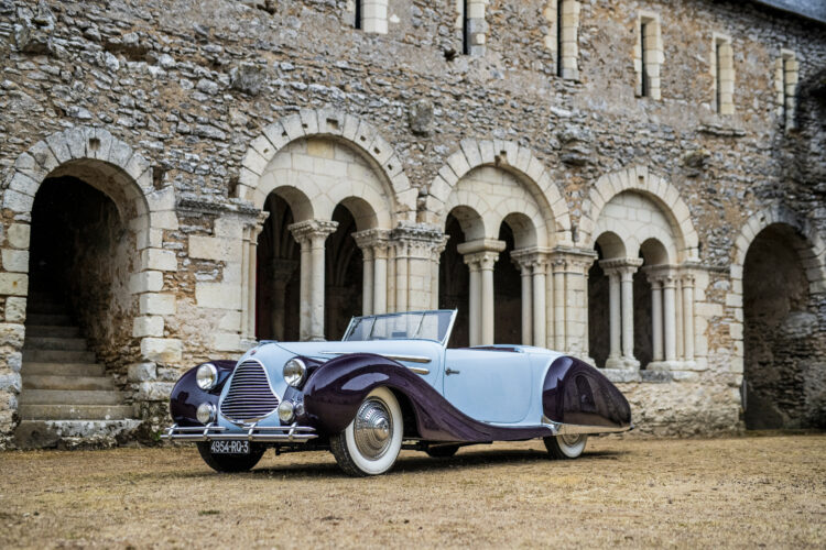 1948 Talbot-Lago T26 Record Sport Cabriolet Décapotable 2