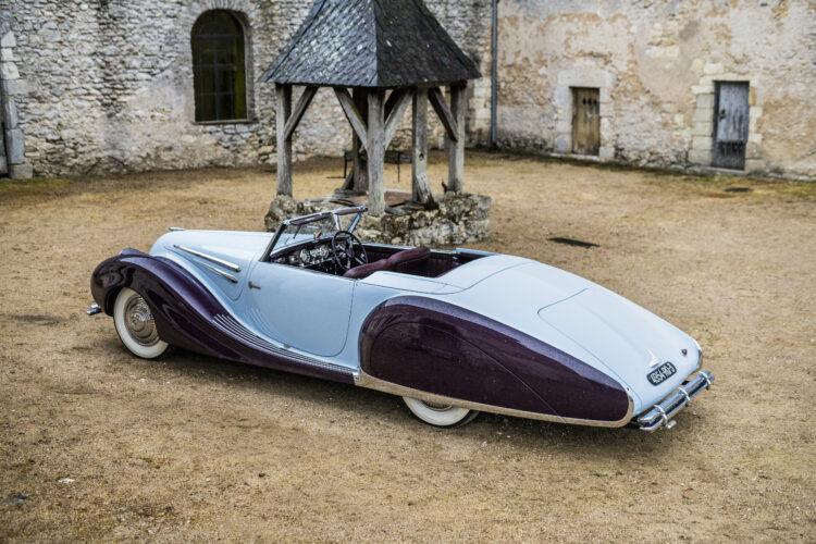 1948 Talbot-Lago T26 Record Sport Cabriolet Décapotable 3